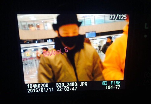 Big Bang - Gimpo Airport - 27feb2015 - Tae Yang - pippi_G - 02