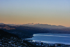 Wellington, and the Hutt Valley with the Tararuas in the back