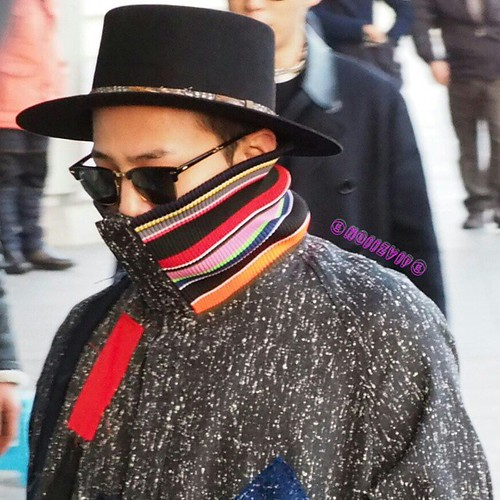Big Bang - Gimpo Airport - 15jan2015 - G-Dragon - NoiizVip - 03