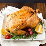 Salted Turkey with Citrus & Herbs