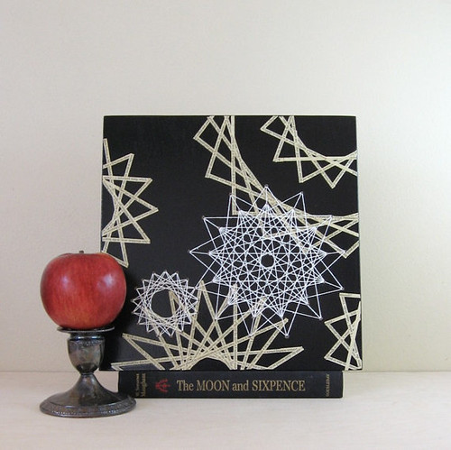 string art constellation wall art