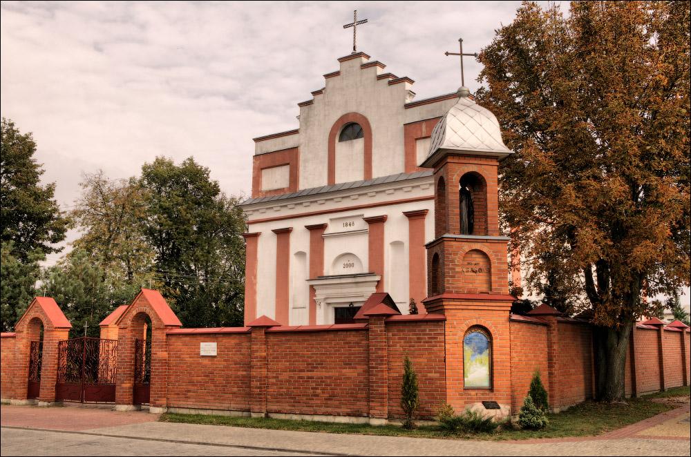 Иваново, костел Крестовоздвиженский