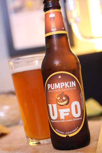 Harpoon Brewery UFO Unfiltered Pumpkin