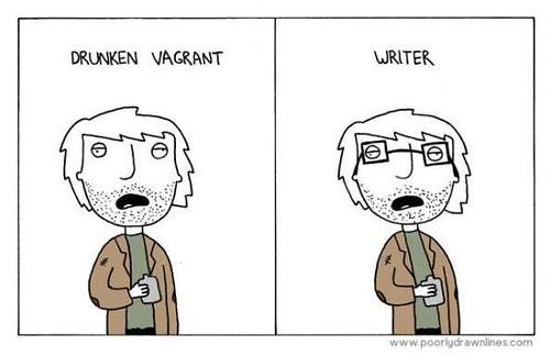 drunken writer