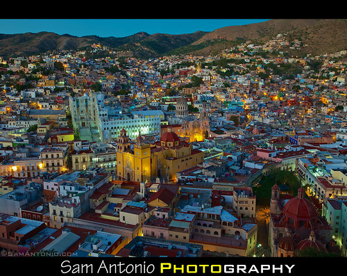 The Beauty of Guanajuato, Mexico at Twilight by Sam Antonio Photography