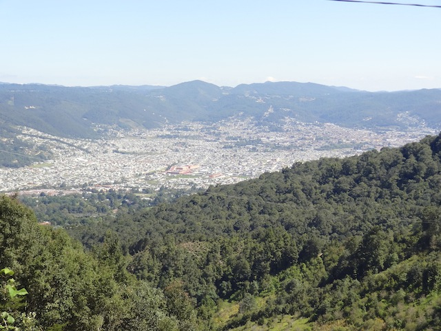 View above San Cristobal 2
