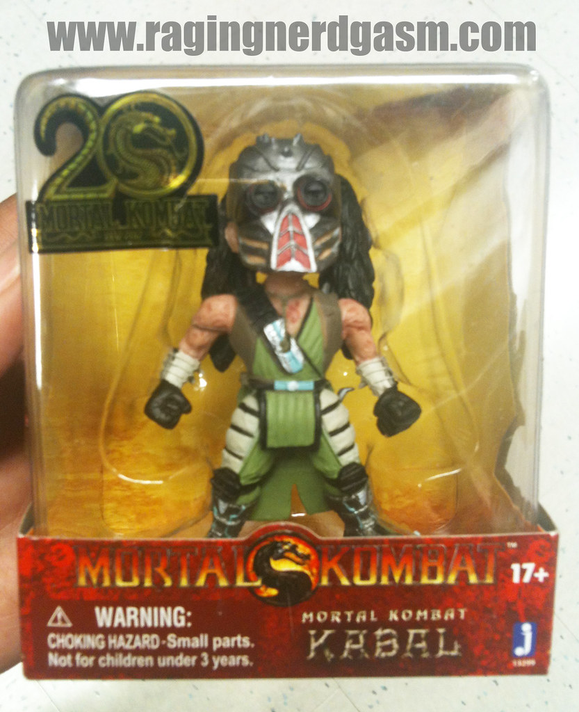 Mortal Kombat Mini Figurines Kabal by Jazwares 010
