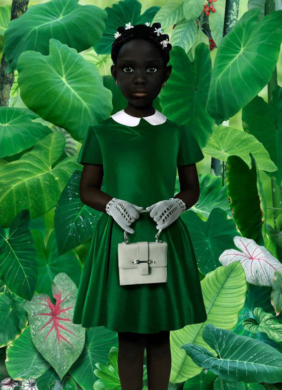 Ruud van Empel, World 19, 2006. Image courtesy of the artist