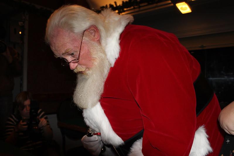 Cape Cod Polar Express Santa.