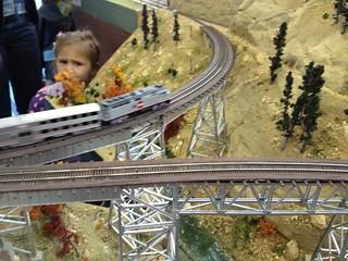 Keddie Wye, die neue Brücke wird bestaunt