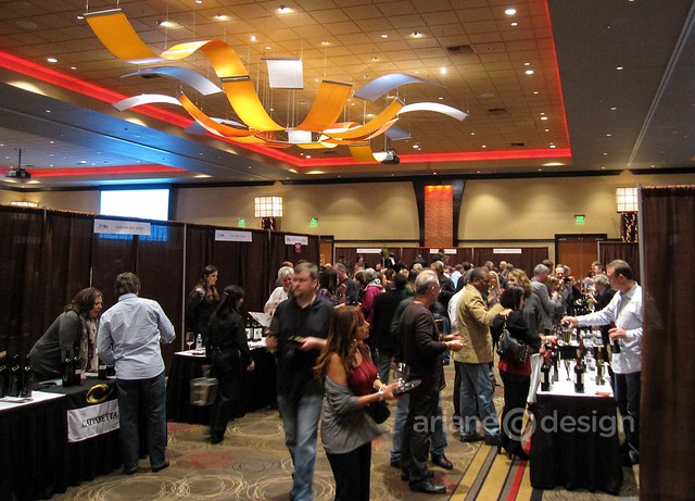Grand Tasting in the main ballroom