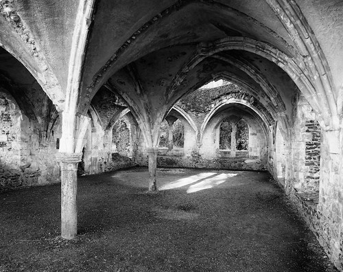 Waverley Abbey - Lay Brothers' Refectory