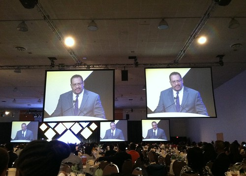 Michael Eric Dyson spoke at ABRCMS
