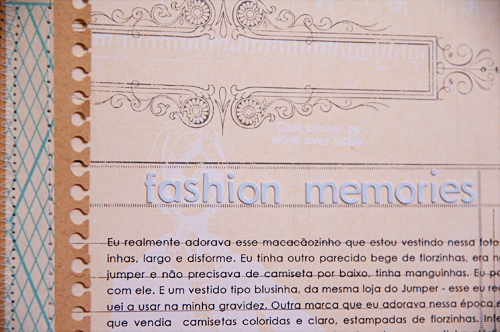 Fashion memories *Studio Calico October Kit*