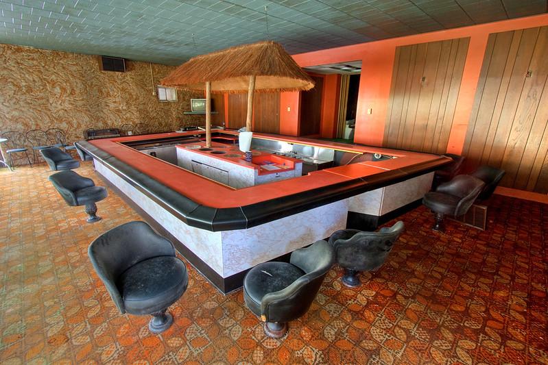 Abandoned Tiki Bar