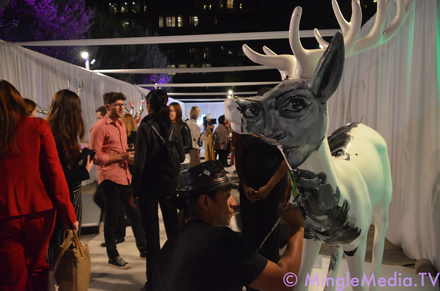 Westfield Century City's The Reindeer Project Unveiling