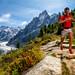 Kilian training above Montenvers by Tristan Shu