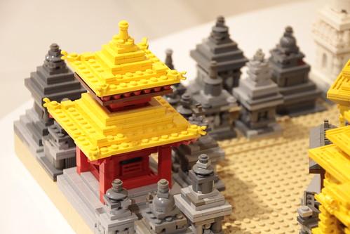 レゴブロックで作った世界遺産展@渋谷パルコ が見応えありすぎる
