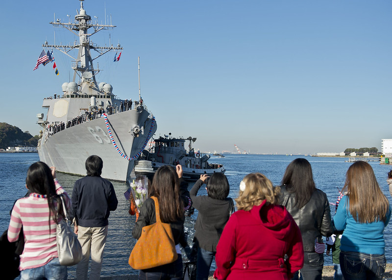 USS Stethem returning home from deployment