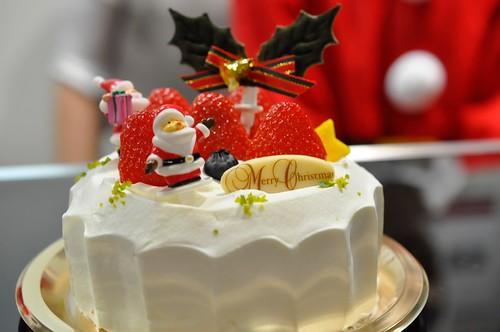 西武池袋本店 クリスマスケーキ モロゾフ クリスマスジョイベルズ