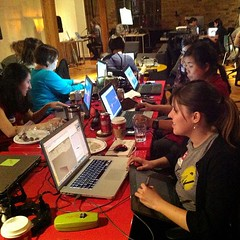 Dames are sticking it out! 9.5 hours into #nojam and we're ready for playtesting