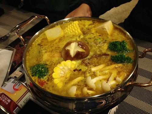南洋咖哩椰漿鍋