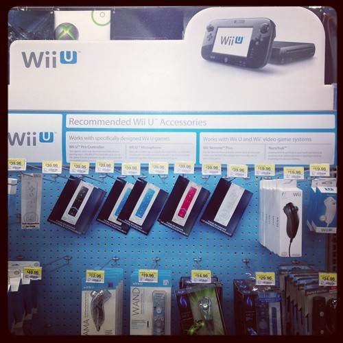 WiiU display