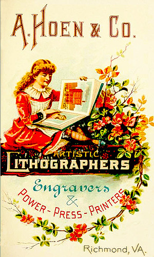 Artistic Lithographers, 1889 by JFGryphon