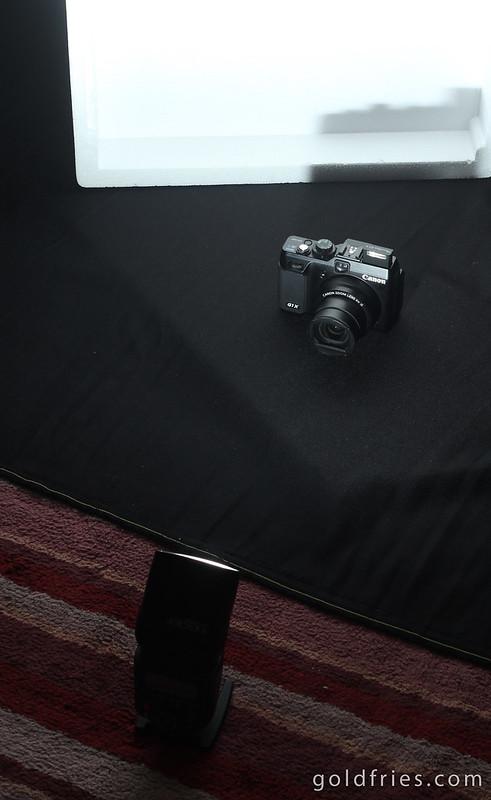 Single Flash Product Shoot - SETUP