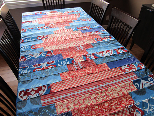 practical Patchwork Tablecloth