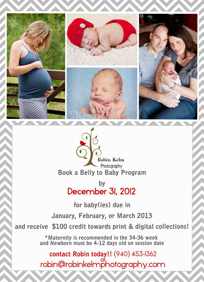 2013 New Year Belly to Baby special vertical web