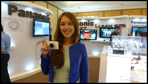Julie Woon with Panasonic Lumix LX7