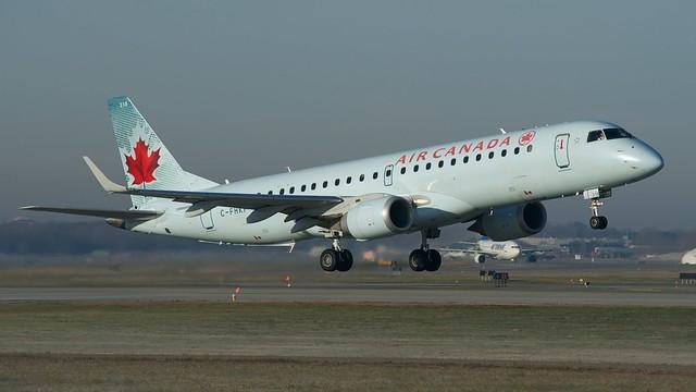 Air Canada Embraer E190 C-FHKP