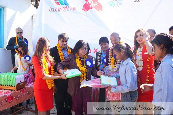 air asia x CSR One laptop one child program - Kathmandu Nepal-015