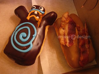 Voodoo Doll, Bacon Maple Bar/Voodoo Doughnuts