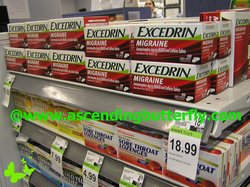Excedrin Migraine in store Display 02 at Duane Reade Herald Square WATERMARKED