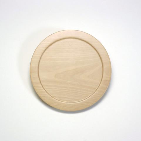 甲斐のぶお工房「木製デザート皿/タイプD」