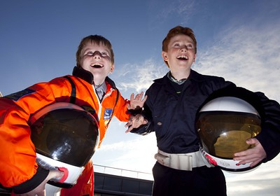 Science Week kids get ready to take off