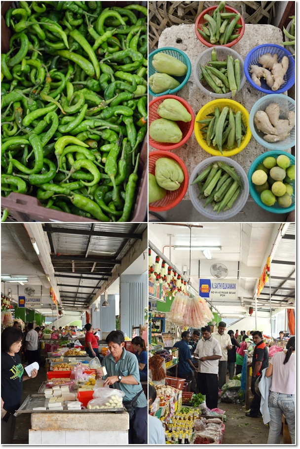 Green Chillies, Tofu Seller & Indian Traders