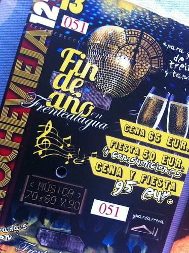 NOCHEVIEJA 2012, FIN DE AÑO en BILBAO by LaVisitaComunicacion