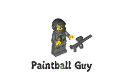 LEGO Minifigures Series 10 -  Paintball Guy