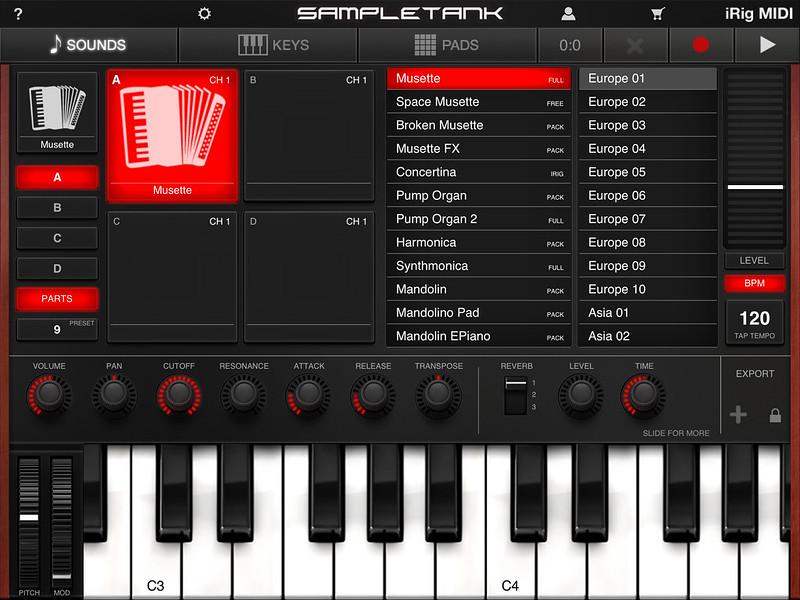 SampleTank Accordion Patch