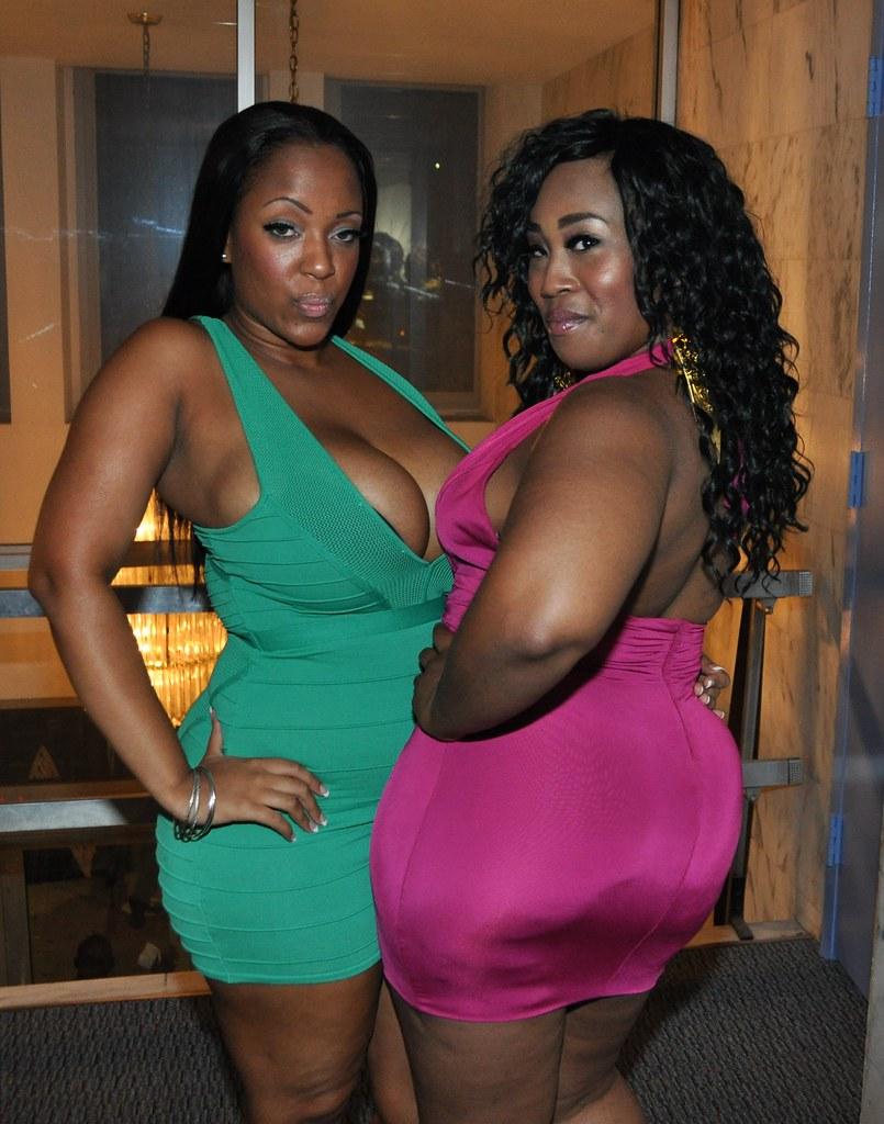 Ebony booty babes