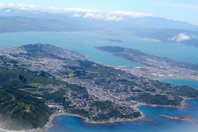 Sunday: arriving back into Wellington