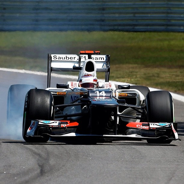 Kamui Kobayashi - Sauber - Brazil - 2012. Should Kobayashi have been dropped by Sauber?