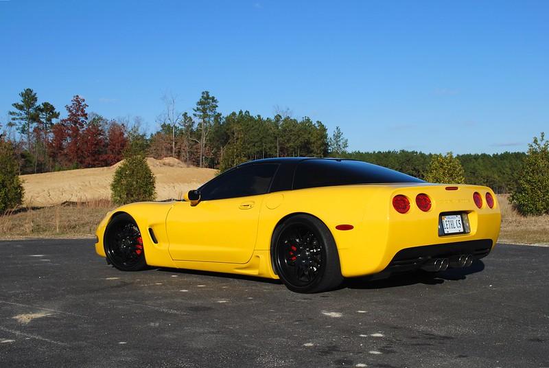 2001 Millennium Yellow Coupe Ls6 6 Speed Corvetteforum