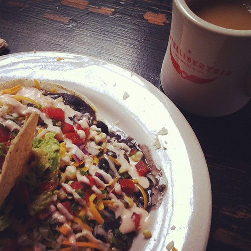 The most incredible huevos rancheros.