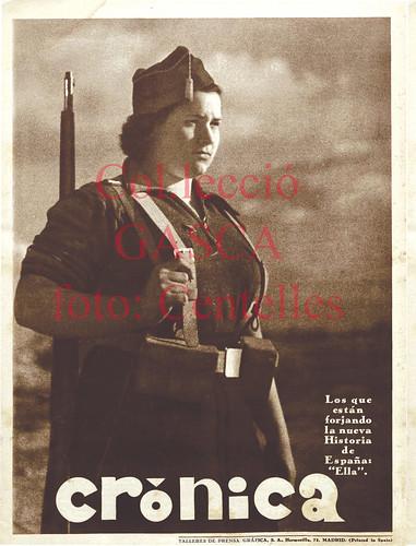 Más portadas de Agustí Centelles i Ossó en la prensa de Madrid. by Octavi Centelles
