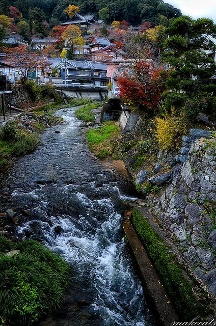 「秋の印象」 長谷寺 - 奈良