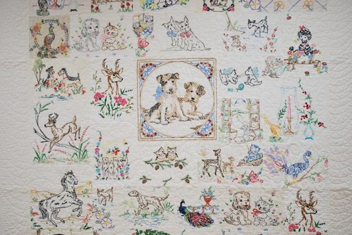 Feeling stitchy new embroidery with vintage patterns an